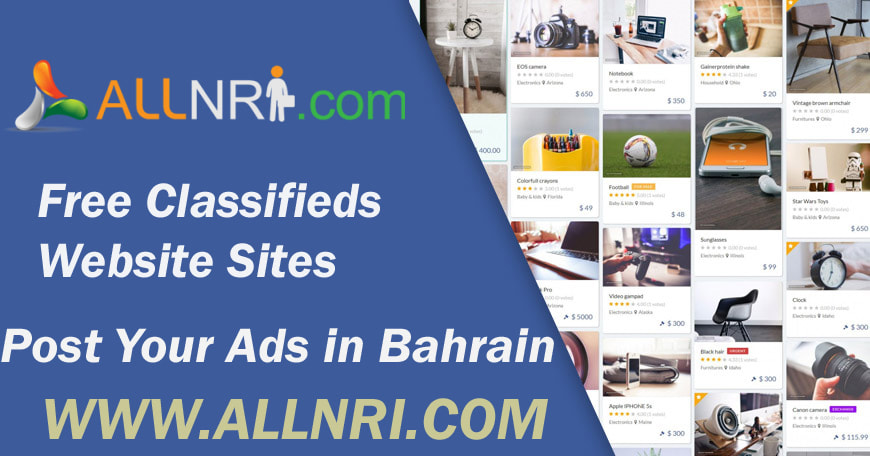 Buy and Sell in Bahrain with a Classified site - Allnri com - Post