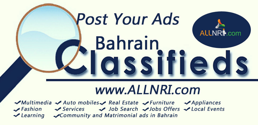 Buy and Sell in Bahrain with a Classified site - Allnri com